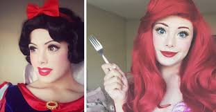 makeup artist perfectly impersonates every disney princess with one surprise