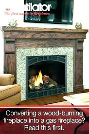 convert gas fireplace to wood stove conversion kit ideas in