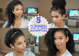 5 Everyday Curly Hairstyles Vol 2 Youtube