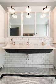 bathroom bathroom sink double faucet inspiring with two pretty bathroom undermount trough sink with two