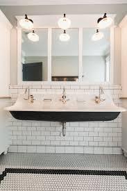 bathroom charming bathroom sink with two faucets shannon schnell large trough pretty bathroom undermount trough