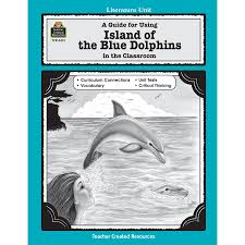 a guide for using island of the blue dolphins in the classroom  tcr0412 a guide for using island of the blue dolphins in the classroom image
