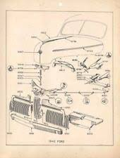 1942 mercury in collectibles 1942 ford mercury radiator parts brochure lot 98983 1z857t