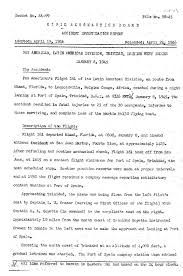 Page Cab Accident Report Pan American Flight 161 Pdf 1