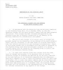 Formal Memorandum Template 8 Word Excel Pdf Documents