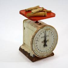 Small Picture Shop Vintage Kitchen Scale on Wanelo