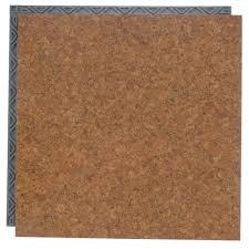 take home sample cork resilient vinyl plank flooring 18 5 in x 9 25 in