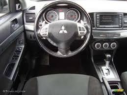 2008 Mitsubishi Lancer GTS Black Steering Wheel Photo #47007984 ...