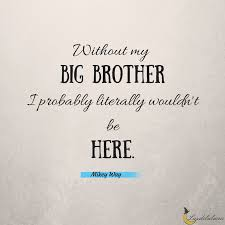 Brother Quotes Amazing 48 Awesome Brother Quotes Luzdelaluna