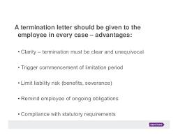 Employment Termination Letters Best Firing Letter Erkaljonathandedecker