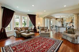 casual living room. Living Room In Luxury Home With Two Columns Casual A