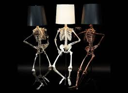 cool floor lamps. Light Up Your Halloween With These Creepy-cool Philippe Skeleton Floor Lamps By Zia Priven Cool N