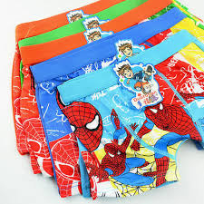 4/5/<b>1Pieces Boys</b> Spiderman <b>Underpants</b> Briefs Boxer Shorts ...