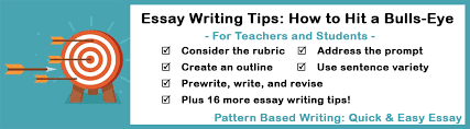 Tips For Writing An Essay Essay Writing Review And Writing Assessment Testing Tips