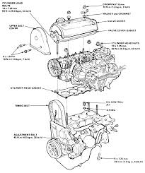 95 honda civic engine diagram ideas