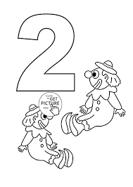 childrens colouring pictures 2. Delighful Pictures 33 Number 4 Coloring Page Free Printable Remarkable 2 Colouring In Childrens  Pages Throughout Pictures O
