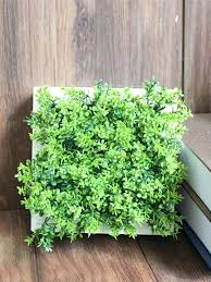 artificial plant wall white wood pot artificial plant wall art artificial plant wall mounted artificial plant