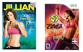 giveaway zumba fitness game or jillian michaels kickboxing dvd 2 winners