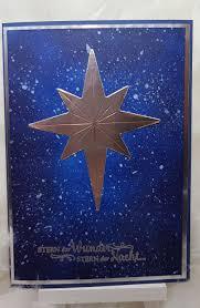 Weihnachtsstern Im Nordlichtstil Der Stern Ist Mit Den