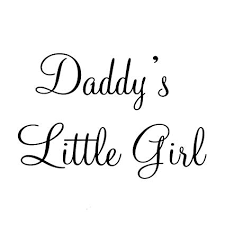 Little Girl Quotes New Amazon Daddy's Little Girl Nursery Wall Decals Cute Baby Quote