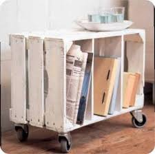 easy to make furniture ideas. Crate Storage Wooden Converted Into A Portable Side Table With Love This Creative Idea Easy To Make Turn Sideways Add Couple Of Furniture Ideas K
