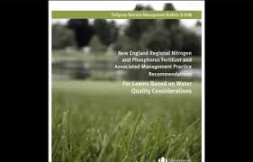 Image For Lawns New England Regional Fertilizer And Management