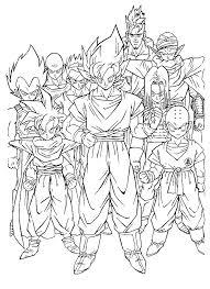 Dragon Ball Z Coloring Pagesドラゴンボールのぬりえ 無料アニメ
