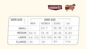 Scentlok Size Chart Darn Tough 1464 Scent Lok Full Cushion