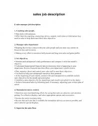 Inside Sales Manager Job Description Resume Examples Bank Call