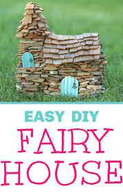 easy diy fairy garden house the cutest