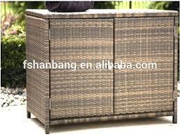 crosley furniture palm harbor outdoor wicker storage bin brown resin box weatherproof pool rattan pillow toy deck dec