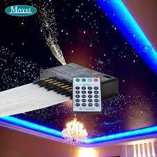Maykit Pmma Falling Fiber Optic Star Ceiling Kit Lighting White