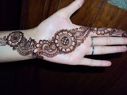 Easy Mehendi Designs For Hands Latest 2014