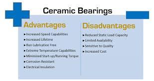steel bearings vs ceramic. \u2022hybrid bearings are more expensive than their standard steel bearing equivalents. however, in general, they much cheaper ceramic bearings. vs