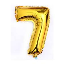 40 giant 7 seven gold mylar number letter balloons birthday big balloon party wedding centerpieces table decoration events 0 0 width=720&height=960