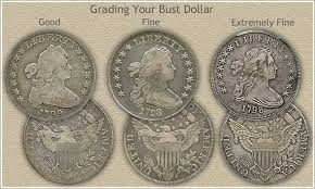 1804 Silver Dollar Value Chart Startling Bust Dollar Values