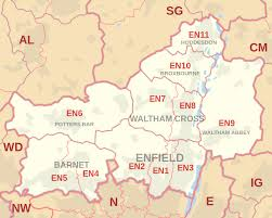 Image result for map of East Barnet, EN4