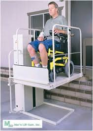 home chair elevator. mac\u0027s pl-50 w/ standard wheelchair elevator lift platform home chair a