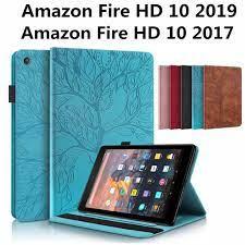 Bao Da Máy Tính Bảng Họa Tiết Cây 3d Cho Amazon Fire Hd10 Hd 10 2019 2017  Ốp