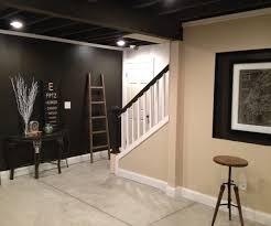 exposed ceiling lighting basement industrial black. industrial basement exposed ceiling lighting black