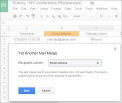 Use Yet Another Mail Merge For Advanced Personalization