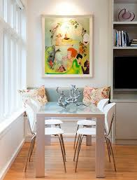 eclectic dining room table and chairs. view in gallery eclectic dining room with a window seat table and chairs