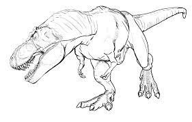 Coloriage A Imprimer Dinosaure T Rex 1001 Animaux