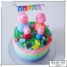 Peppa Pig Birthday Cake Tips For Birthday Cake Design Tips For