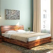 Wooden furniture bed design Box Ohio Bed Urban Ladder Bed Designs Buy Latest Modern Designer Beds Urban Ladder