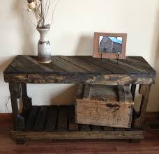 diy entry table made from pallets