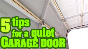 squeaky garage doorHow to fix a noisy Garage Door Opener  YouTube
