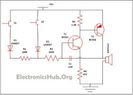 circuit diagram fora diy alarm project wiring diagram site simple security alarm circuit working and applications mini simple series circuit diagram 90 best images about