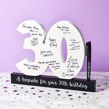 Here are the best gifts for friends. 30th Birthday Gifts Birthday Present Ideas Find Me A Gift