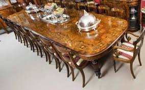 this is a fantastic bespoke handmade victorian style marquetry dining set prising a gorgeous burr